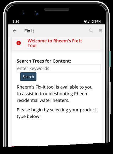 Rheem Mobile App