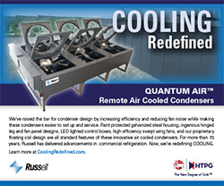 """""""Cooling Redefined"""" Quantum Air Remote Air Cooled Condensers DDA Award Ad 2017 Ad Image"""