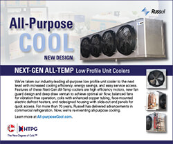 """""""All-Purpose Cool"""" Next-Gen All-Temp Low Profile Unit Coolers Ad 2017"""