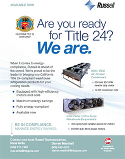 """""""Are you ready for Title 24? We are!"""" Ad 2015 & 2016"""