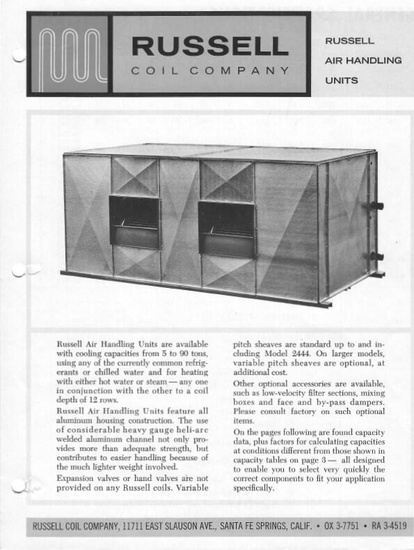 Air Handling Units 1965 Thumbnail