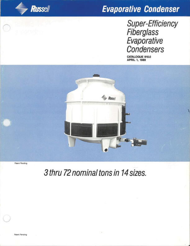 Evaporative Condenser 1989