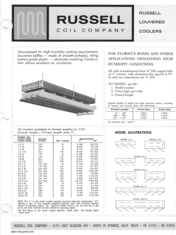 Louvered Coolers 1967 Thumbnail