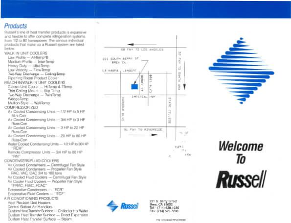 Russell Open House Brochure 2000