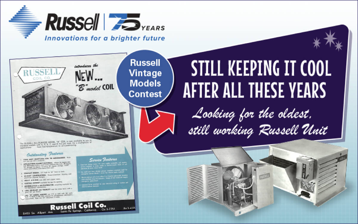 Russell - 75 years innovations for a brighter future