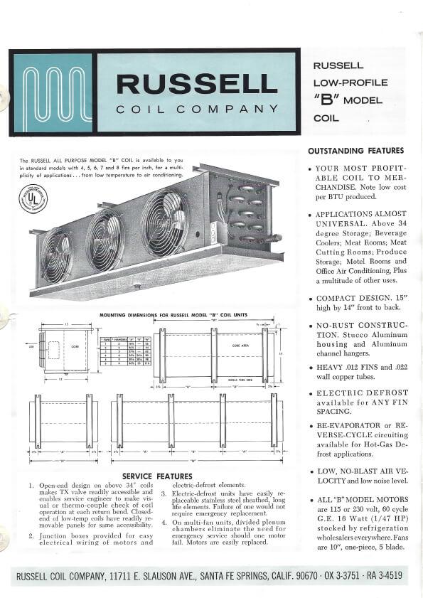 All-Temp Model B 1968