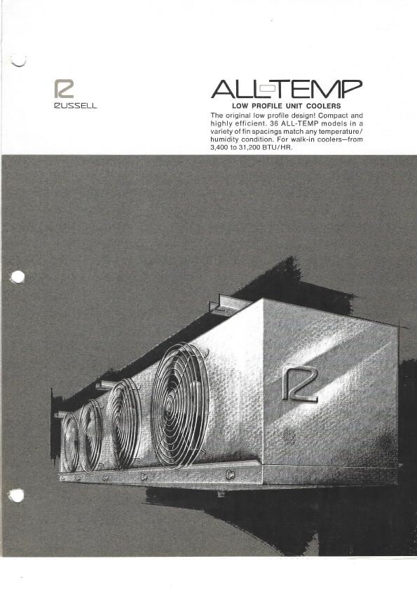 All-Temp Unit Coolers 1974