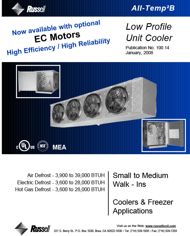 All-Temp2B Unit Coolers 2008