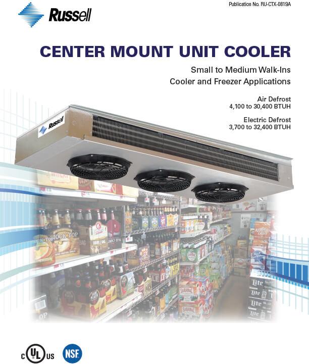 Center Mount Unit Coolers 2019