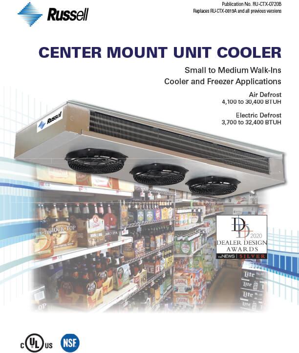 Center Mount Unit Cooler Unit Coolers DDA Award 2020