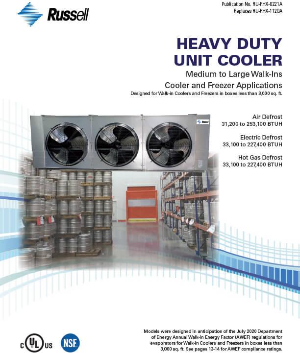Heavy Duty Unit Coolers 2021