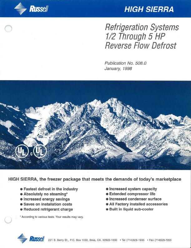 High Sierra Systems 1998