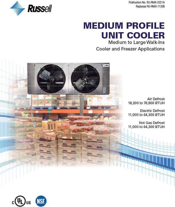 Medium Profile Unit Coolers 2021