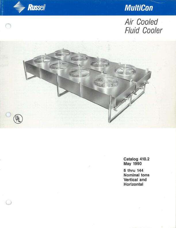 MultiCon Fluid Cooler 1990