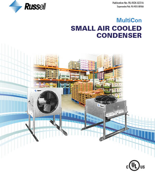 MultiCon Small Air Cooled Condensers 2021