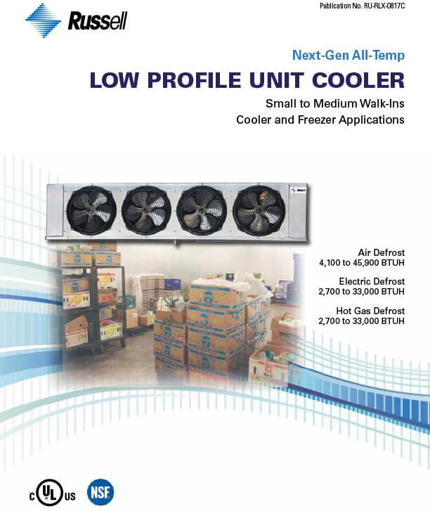 Next-Gen All-Temp Low Profile Unit Coolers 2017