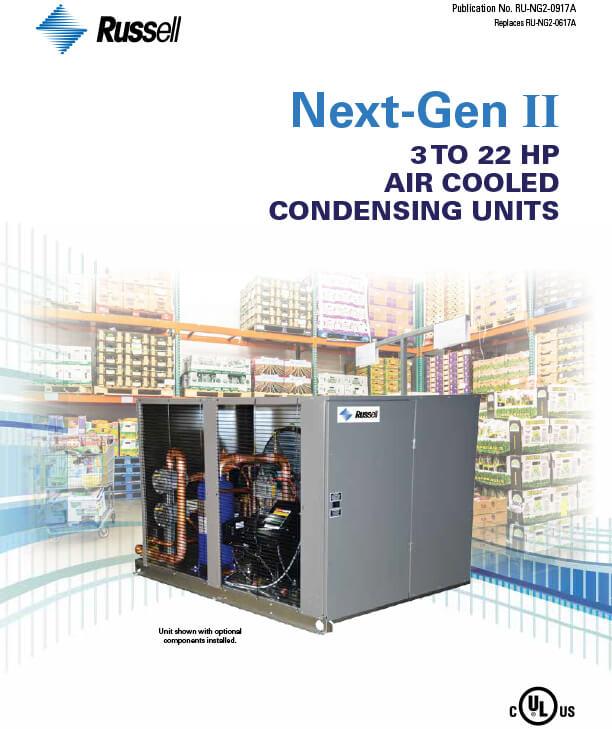 Next-Gen II 3 to 22 HP Condensing Units 2017