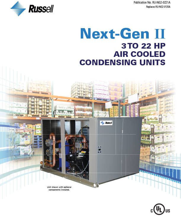 Next-Gen II 3 to 22 HP Condensing Units 2021