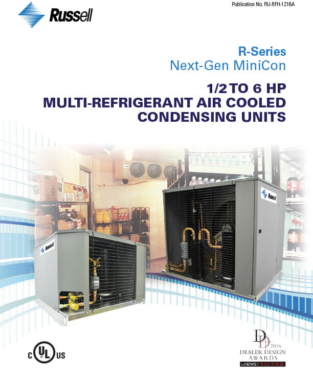 Next-Gen ½ - 6 HP Condensing Units 2015