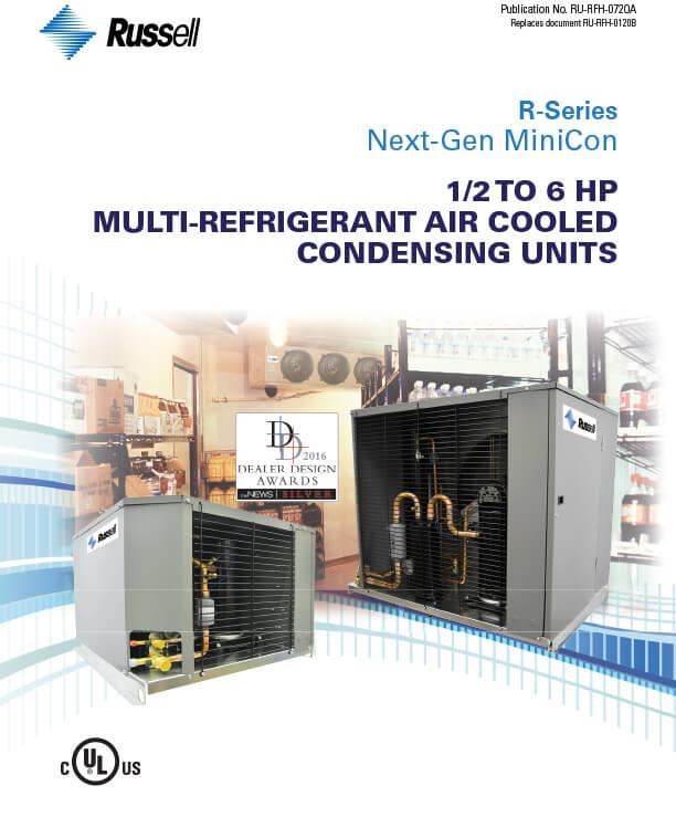 Next-Gen R-Series ½ to 6 HP Condensing Units 2020