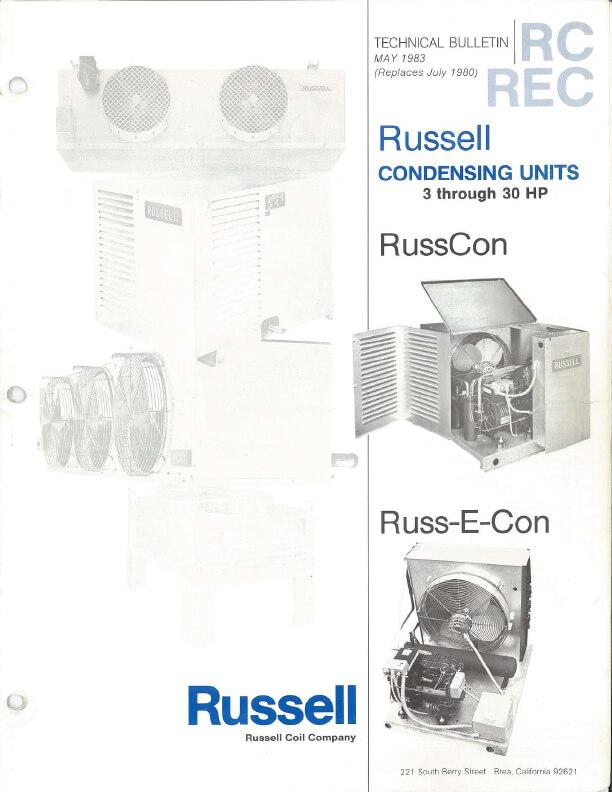 RussCon Russ-E-Con Tech Bulletin 1983