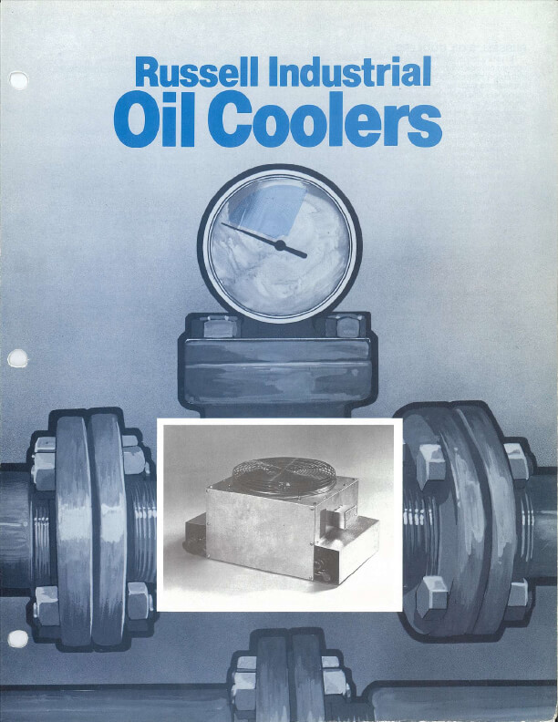 Russell Industrial Oil Coolers 1980s