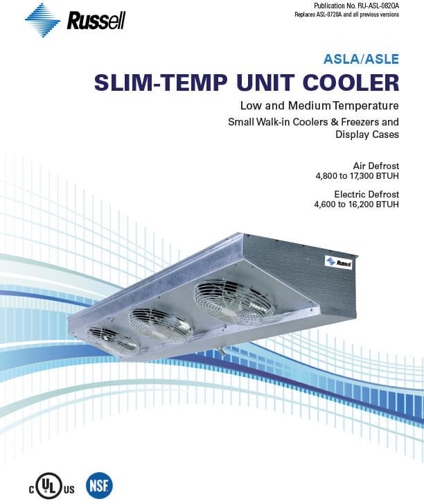 Slim-Temp ASLA/ASLE Unit Coolers 2020