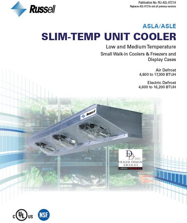 Slim-Temp ASLA/ASLE Unit Coolers 2021 DDA Award