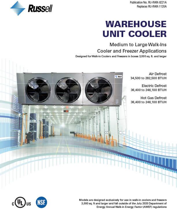 Warehouse Unit Coolers 2021